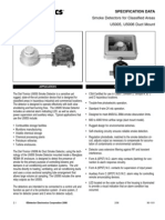 DET-TRONICS-Smoke Detectors for Classified Areas-U5005_6_Spec_Sheet