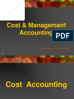 Cost & Mgmt Accounting