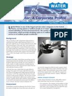United Water a Corporate Profile