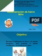 ADMINISRACIÓN DE HIERRO