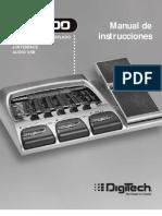 SpRPx400 Manual Spanish