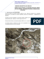 Memoria Descriptiva Proyecto de Irrigacion
