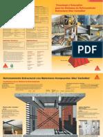 Tecnología y Conceptos para los Sistemas de Reforzamiento Estructural SikaCarboDur