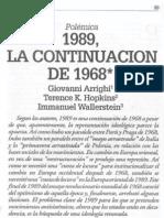 1989, La Continuación de 1968