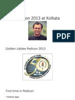 Pedicon 2013 at Kolkata