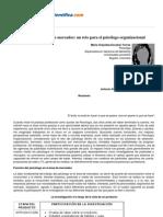 Psicologiapdf 169 La Investigacion de Mercados Un Reto Para El Psicologo Organizacional
