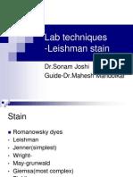 Lab Techniques Stains