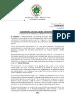 CP 2013 - Pide Al Gobernador Sesion Extraordinaria