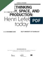 2008 - Rethinking Lefebvre Program