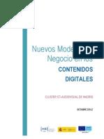 Nuevos modelos de negocio en los contenidos digitales