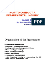 Presentation Made at Institute of Public Administration Bangalore in Aug. 2008
