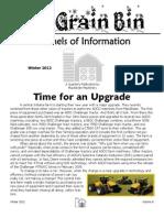 The Grain Bin - Winter 2012