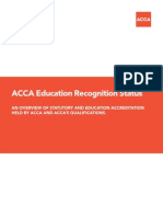 ACCA Accreditation Status