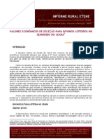 Documento Bovino de Leite Bnb No Semiarido
