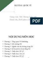 Slide môn marketing