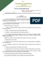 Lei.9.784- 99. Regula o Processo Administrativo