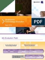 Qualcomm Technology Evolution (Sept 2010)