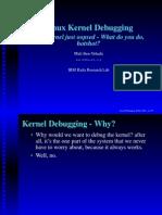 Kernel Oopsing