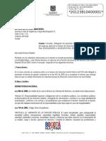 PRESENTACIÓN DE INFORMES DE ENTREGA DEL CARGO