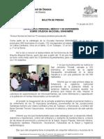 11/07/13 Germán Tenorio Vasconcelos CAPACITAN A PERSONAL MÉDICO Y DE ENFERMERÍA  SOBRE CRUZADA NACIONAL SINHAMBRE
