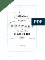 Aguado, Dionisio - Op.14 - Collection Des Oeuvres Pour La Guitare