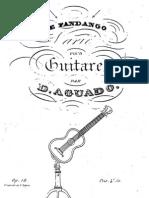 Aguado, Dionisio (1784-1849)_Le Fandango Op 16