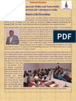 National Seminar on Caste