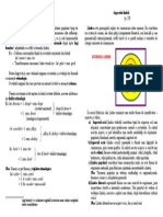 2. Dublete Etimologice. Aspectele Limbii