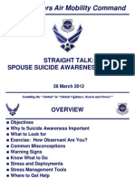 Key Spouse Suicide Awareness Briefing for Print Out