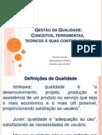 MPU 6 - QUALIDADE, FERRAMENTAS E TEÓRICOS