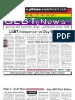 GLBT News July 13 Print Edition
