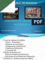 Control de Solidos en La Perforacion 26072012