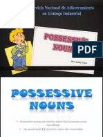 Possesive Nouns