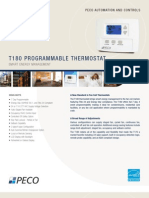 Residential T180 Thermostat