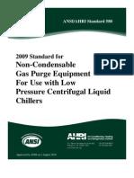 Ansi.ahri Standard 580-2009_refrigerante Chiller