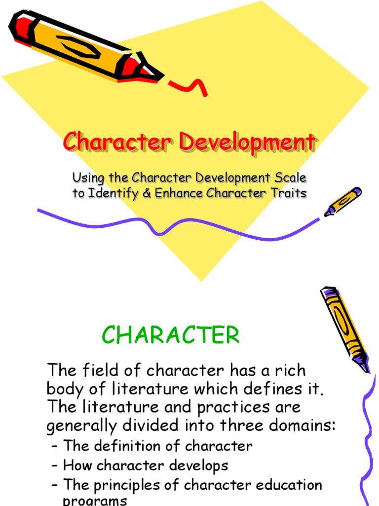 character development | morality | phenotypic trait