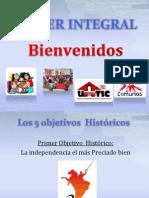 Los 5 objetivos  Históricos.pptx