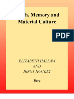 Hallam y Hockey - Death, Memory and Material Culture