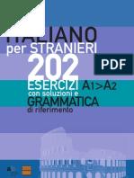 Italiano Per Stranieri 202 Esercizi