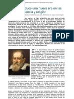Galileo Introduce Una Nueva Era en Las Relaciones Ciencia y Religion