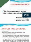atitude e comportamento-