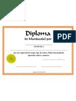 Diploma de Maniaco (Loucos por alguma coisa, pessoa, assunto, objetos, etc)