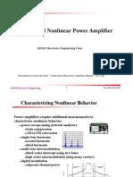 Linear Nonlinear Amp
