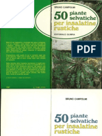 50 Piante Selvatiche Per Insalati(