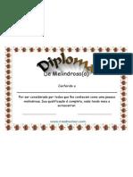 Diploma de Melindroso
