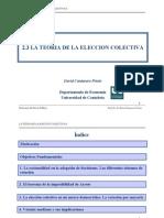 EP. 2.3 Teoria de Eleccion Colctiva