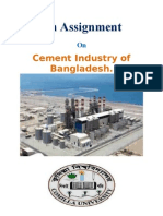 An Assignment of Cement Industry of Bangladesh