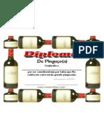 Diploma de Pinguco (pingaiada, cachaceiro, manguaceiro, bebedor, enxugador de copo, etc.)