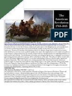 histo 2820 -- the american revolution 1765-1815