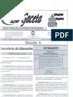 Acuerdo Ministerial Del TES